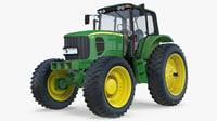 3D tractor jd model