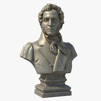 3D pushkin model