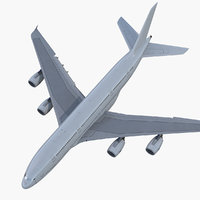 3D airbus a380-900 generic rigged