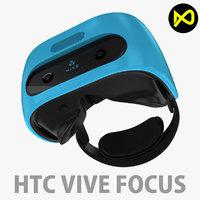 htc vive focus 3D