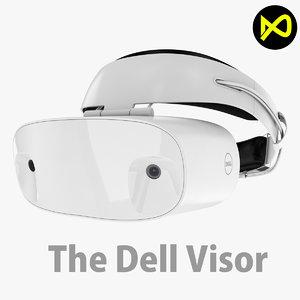 3D dell visor reality