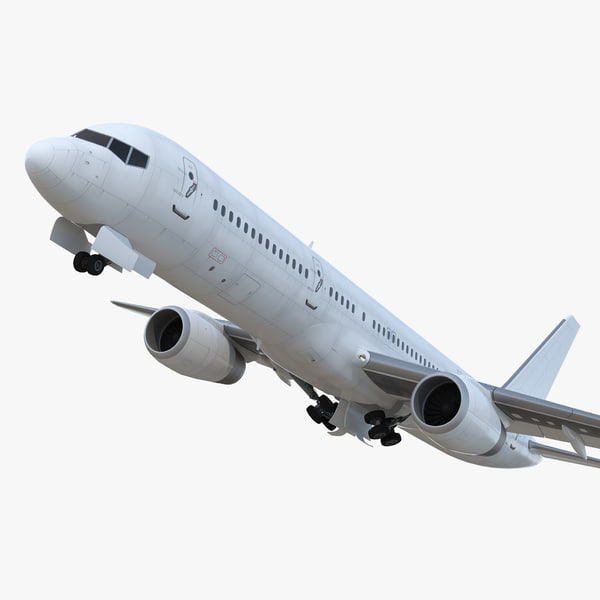 boeing 757-200 generic rigged model