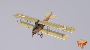 3D model albatros plane