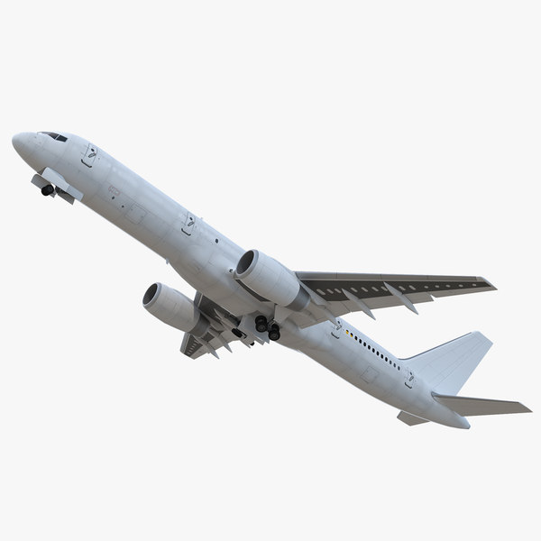 boeing 757-200f generic rigged 3D model