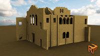 3D alahan monastery