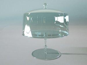 cakestand display 3D