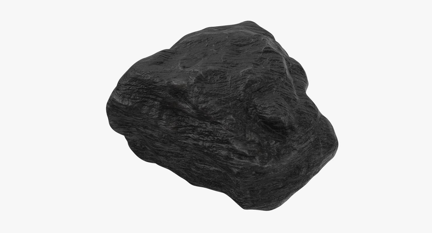 3D lump coal 01