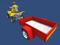 quad bike trailer player model