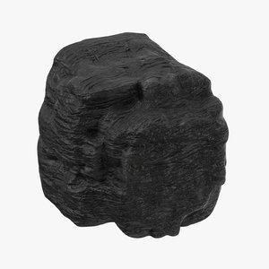 3D lump coal 03