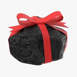 lump coal ribbon 01 3D model