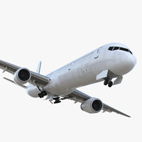 boeing 757-300 generic rigged 3D model