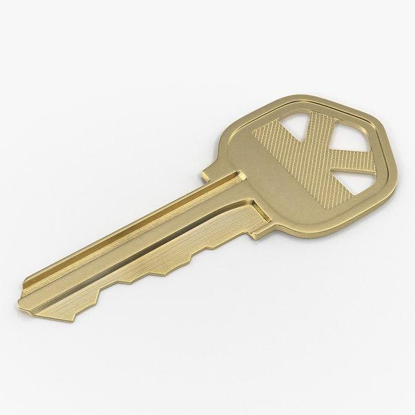 bronse house key 3D