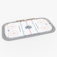 ice hockey rink model