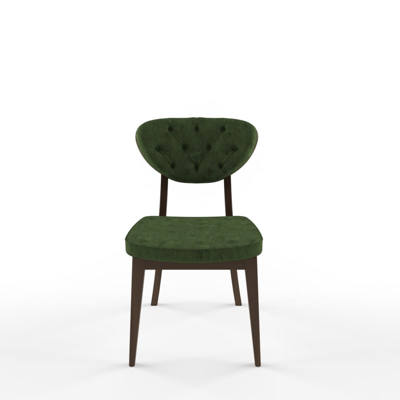 quilted latino chair 3D model