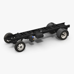 3D truck frame chassis