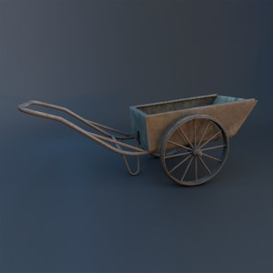 pushcart 3D model
