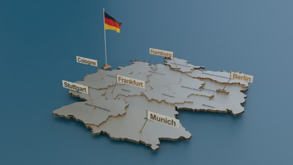 germany plugins elections 3D model