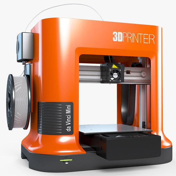 printer da vinchi mini model