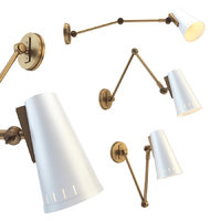 3D antonio adjustable arm wall lamp