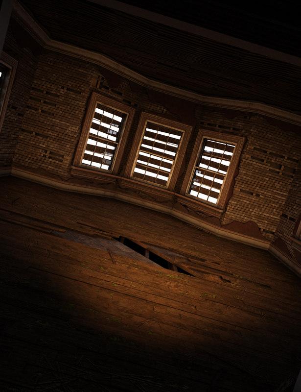 haunted parlor daz studio 4 model