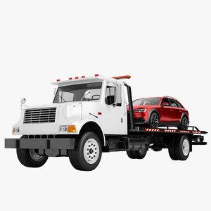 3D tow truck big