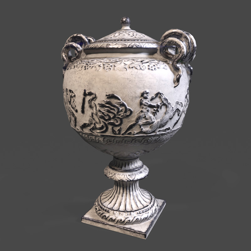 3D vase empire model