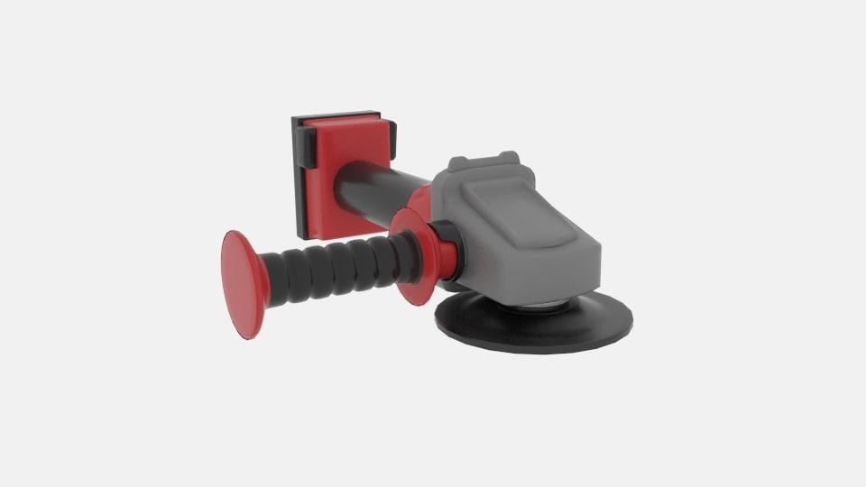 braking grinder 3D model
