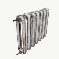 3D radiator iron rust