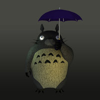 neighbor totoro 3D model