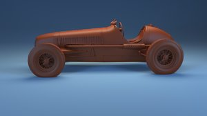maserati 6cm 3D model
