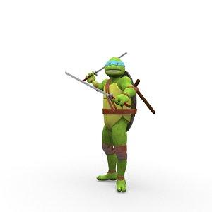 teenage mutant ninja 3D
