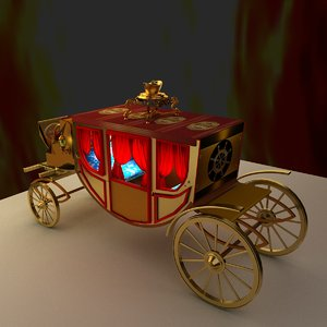 3D chinese carriage