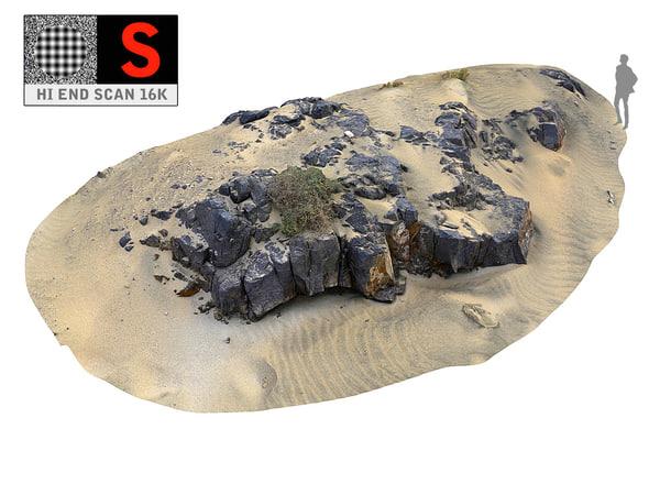 3D dark dunes 16k model