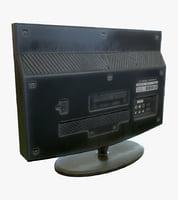 lcd tv - ready 3D model