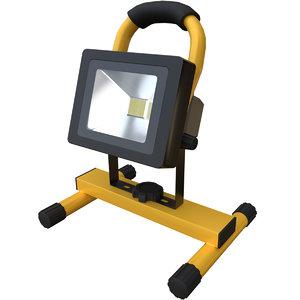 3D portable work light