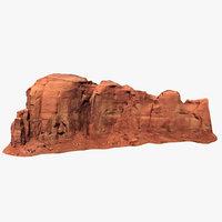 Vast Sandstone Butte