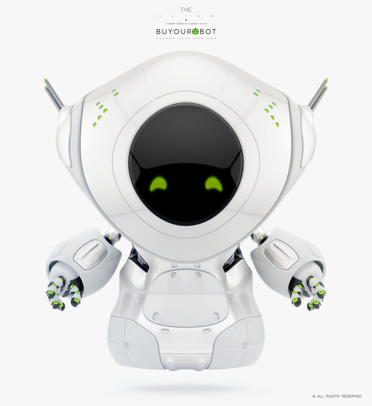 cartoon pirate bot model