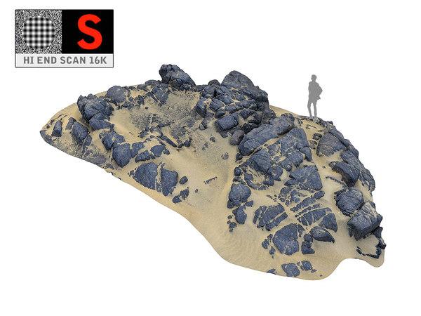 dark dunes 16k 3D