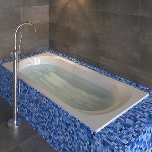 3D riho miami bath ravak model