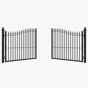 gates 3 animation 3D model