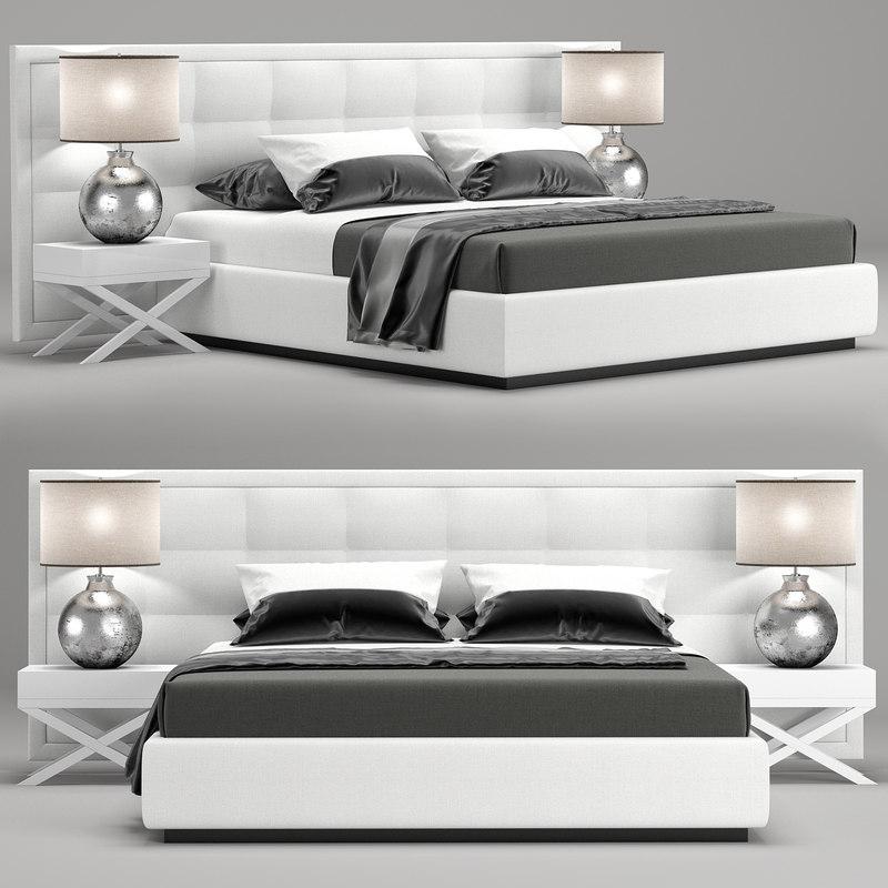 3D jazz bed model