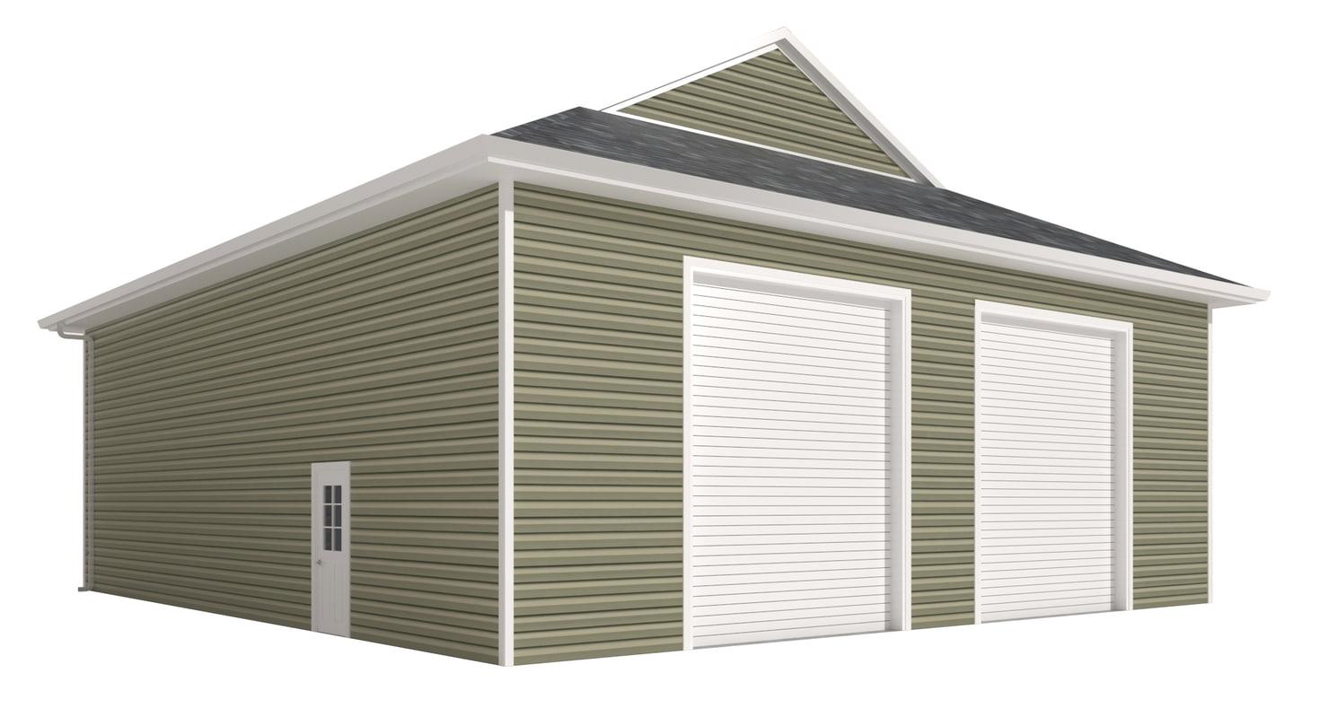 garage doors 3D