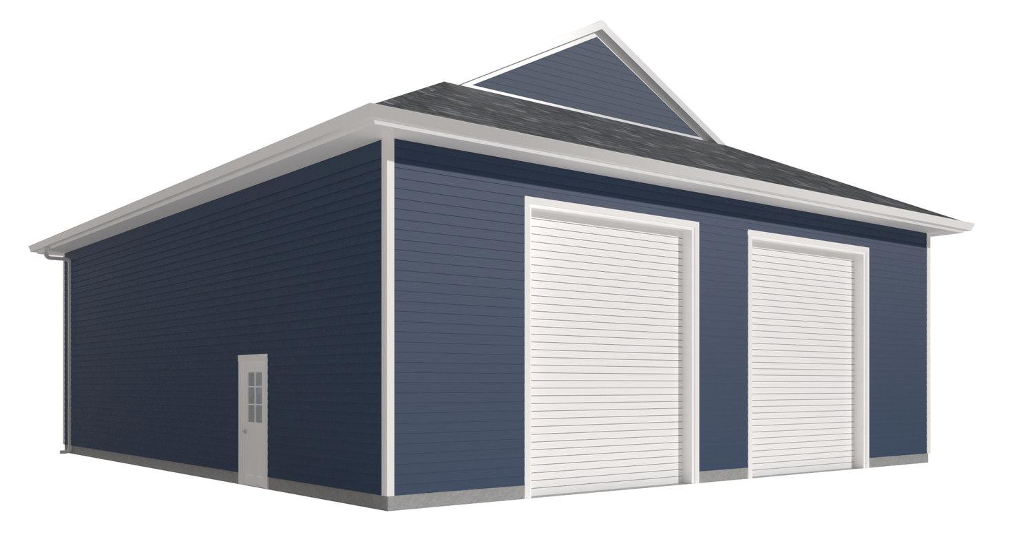 garage doors 3D model