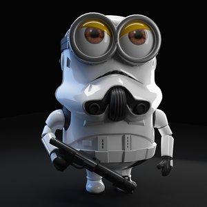 3D model minion