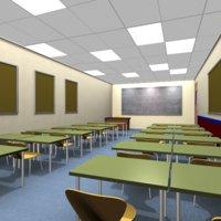 3D classroom class