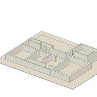 3D house guy model