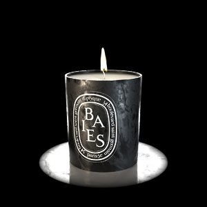 3D model flickering candle