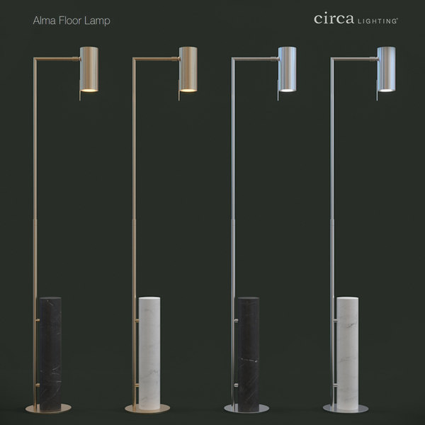 alma floor lamp 3D model