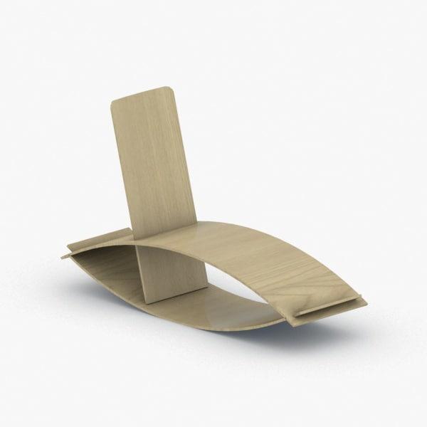 3D interior - modern chair stool model