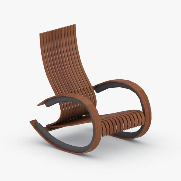 interior - modern armchair 3D